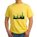 London landmarks Yellow T-Shirt