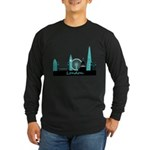 London landmarks Long Sleeve Dark T-Shirt