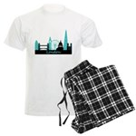 London landmarks Men's Light Pajamas