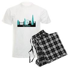 London landmarks pajamas