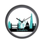 London landmarks Wall Clock