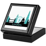 London landmarks Keepsake Box