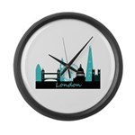 London landmarks Large Wall Clock
