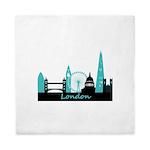 London landmarks Queen Duvet