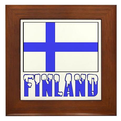 Flag 10x10 Sample Framed Tile