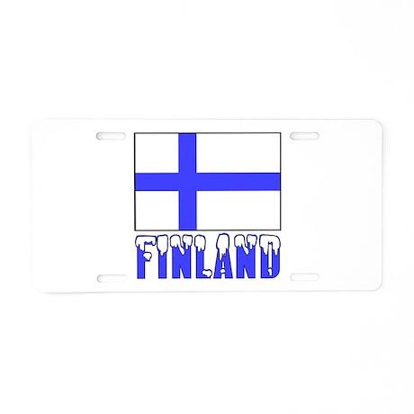 Flag 10x10 Sample Aluminum License Plate