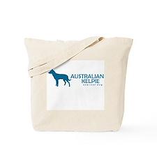 "Australian Kelpie ""One Cool Dog"" Tote Bag"