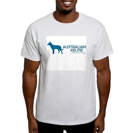 "Australian Kelpie ""One Cool Dog"" Ash Grey T-Shirt"