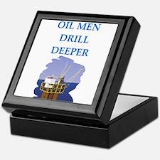 OIL men Keepsake Box