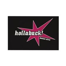Atrevete Hollaback Buenos Aires Pow! Rectangle Mag