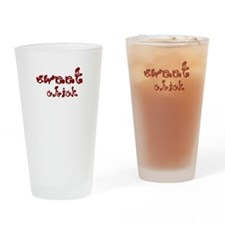 Sweet Chick Drinking Glass