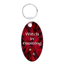 Witch in Training Keychain