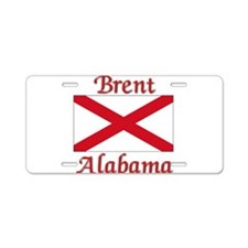 Brent Alabama Aluminum License Plate