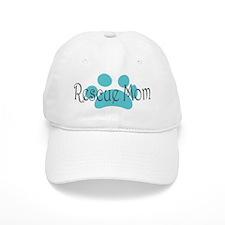 Rescue Dog Mom Baseball Cap