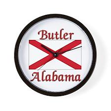 Butler Alabama Wall Clock