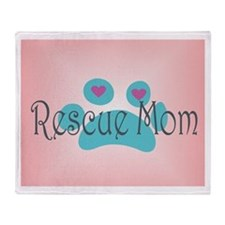 Rescue Mom with hearts and background Stadium Bla
