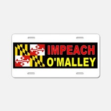 OMALLEY FOE Aluminum License Plate