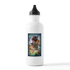Dinner Time Chipmunk Sports Water Bottle
