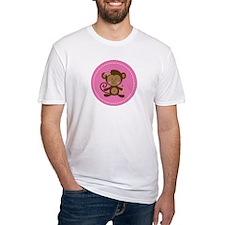 Monkey Girl - Pink Shirt
