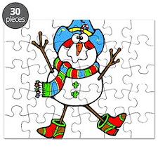 Cowboy Snowman Puzzle