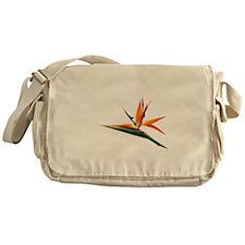 Bird of Paradise Flower Messenger Bag