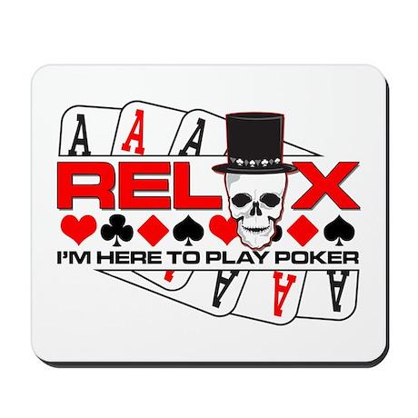 Poker Skull Mousepad