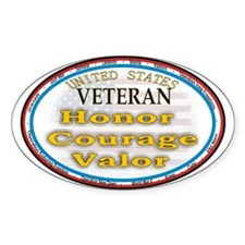 Veteran Pride Decal