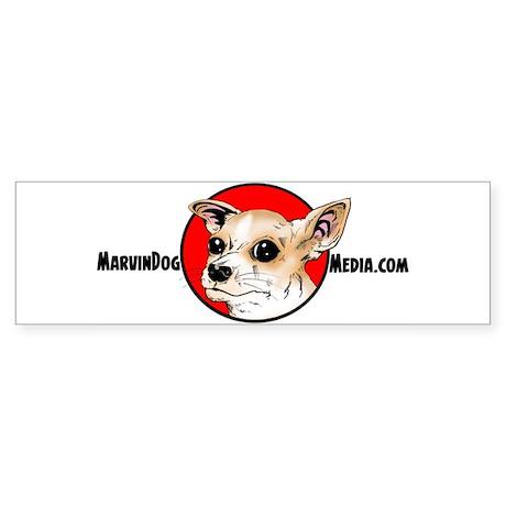 MarvinDog Media Sticker (Bumper)