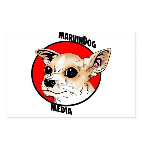 MarvinDog Media Postcards (Package of 8)