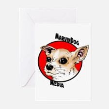 MarvinDog Media Greeting Cards (Pk of 20)