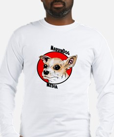 MarvinDog Media Long Sleeve T-Shirt