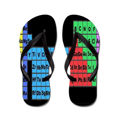 periodic table vertical.PNG Flip Flops