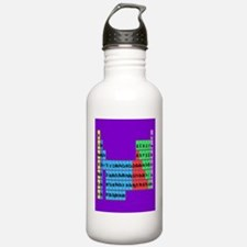 periodic table vertical purple.PNG Water Bottle