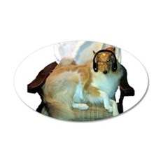 Foxx in Dads Chair Wall Decal