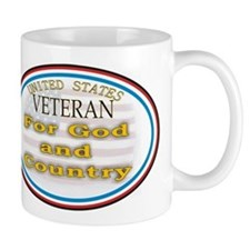 God and Country.JPG Small Mug