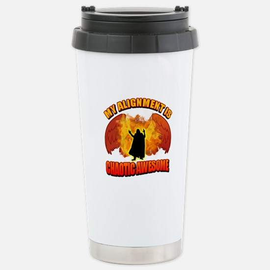 Chaotic Awesome Stainless Steel Travel Mug