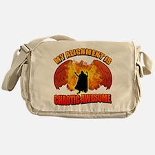 Chaotic Awesome Messenger Bag