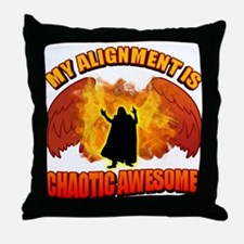 Chaotic Awesome Throw Pillow