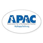 APAC Logo Sticker (Oval)