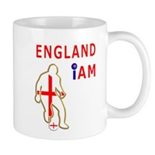 England i am football design Mug