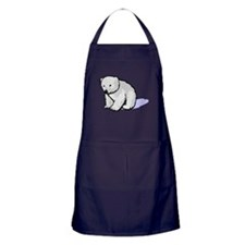 Polar Bear Cub Apron (dark)
