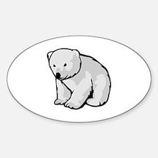 Polar Bear Cub Decal