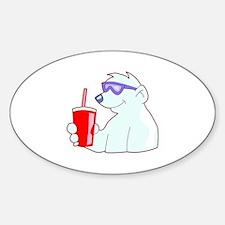 Cool Polar Bear Decal