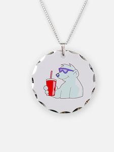 Cool Polar Bear Necklace