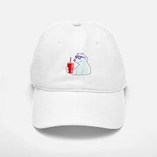 Cool Polar Bear Baseball Baseball Cap