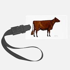 Shorthorn dairy cow Luggage Tag