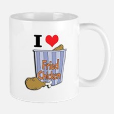 I Heart (Love) Fried Chicken Mug