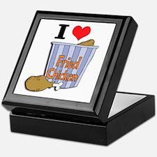 I Heart (Love) Fried Chicken Keepsake Box