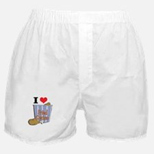 I Heart (Love) Fried Chicken Boxer Shorts