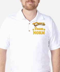 team norm cheers.png Golf Shirt